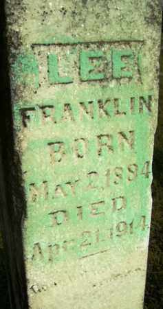 FRANKLIN, LEE - Franklin County, Arkansas | LEE FRANKLIN - Arkansas Gravestone Photos