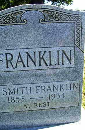 FRANKLIN, N SMITH - Franklin County, Arkansas | N SMITH FRANKLIN - Arkansas Gravestone Photos