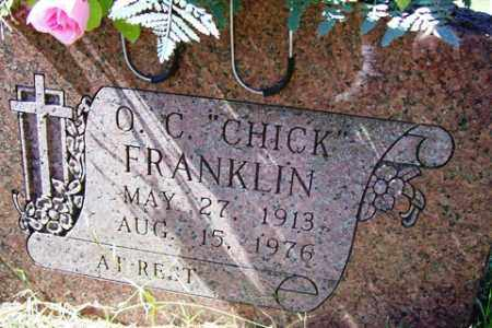 "FRANKLIN, O. C. ""CHICK"" - Franklin County, Arkansas 