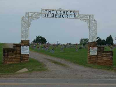 *GARDEN OF MEMORIES, ENTRANCE GATE - Franklin County, Arkansas | ENTRANCE GATE *GARDEN OF MEMORIES - Arkansas Gravestone Photos
