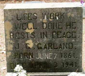 GARLAND, J G - Franklin County, Arkansas | J G GARLAND - Arkansas Gravestone Photos