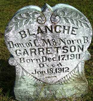 GARRETSON, BLANCHE - Franklin County, Arkansas | BLANCHE GARRETSON - Arkansas Gravestone Photos