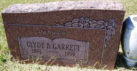 GARRETT, CLYDE B. - Franklin County, Arkansas | CLYDE B. GARRETT - Arkansas Gravestone Photos