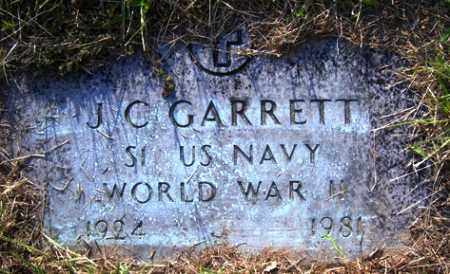 GARRETT (VETERAN WWII), J C - Franklin County, Arkansas | J C GARRETT (VETERAN WWII) - Arkansas Gravestone Photos