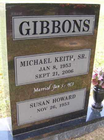 GIBBONS SR., MICHAEL KEITH - Franklin County, Arkansas | MICHAEL KEITH GIBBONS SR. - Arkansas Gravestone Photos