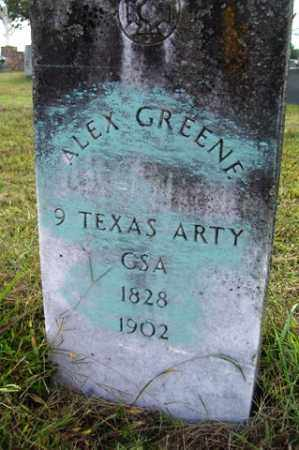 GREENE (VETERAN CSA), ALEX - Franklin County, Arkansas | ALEX GREENE (VETERAN CSA) - Arkansas Gravestone Photos