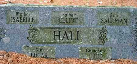 HALL, ELLIOT - Franklin County, Arkansas | ELLIOT HALL - Arkansas Gravestone Photos