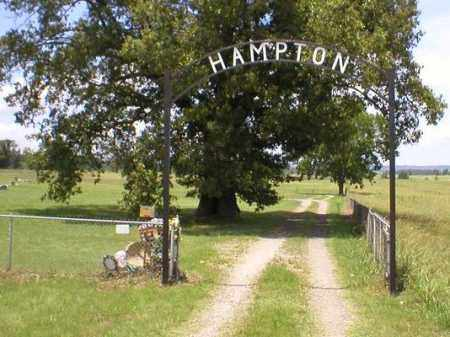 *HAMPTON CEMETERY GATE,  - Franklin County, Arkansas |  *HAMPTON CEMETERY GATE - Arkansas Gravestone Photos