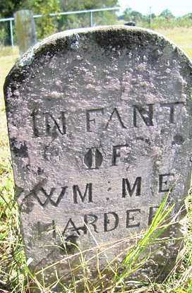 HARDER, INFANT - Franklin County, Arkansas | INFANT HARDER - Arkansas Gravestone Photos