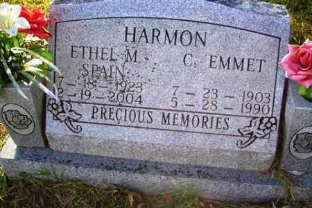 SPAIN HARMON, ETHEL M - Franklin County, Arkansas | ETHEL M SPAIN HARMON - Arkansas Gravestone Photos