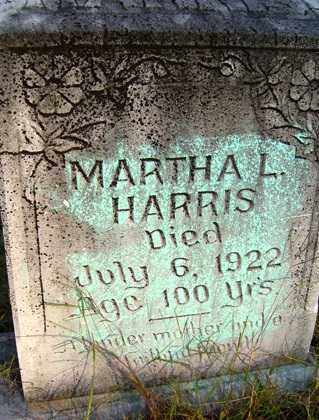 HARRIS, MARTHA L - Franklin County, Arkansas | MARTHA L HARRIS - Arkansas Gravestone Photos