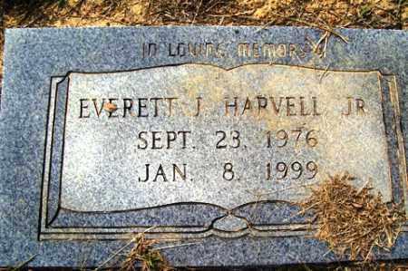 HARVELL JR, EVERETT - Franklin County, Arkansas | EVERETT HARVELL JR - Arkansas Gravestone Photos