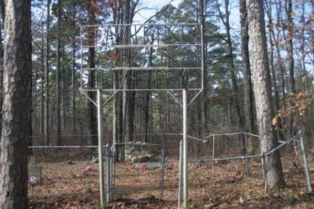 *HAWKINS FLAT CEMETERY GATE,  - Franklin County, Arkansas |  *HAWKINS FLAT CEMETERY GATE - Arkansas Gravestone Photos