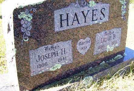 HAYES, LILLIE B. - Franklin County, Arkansas | LILLIE B. HAYES - Arkansas Gravestone Photos