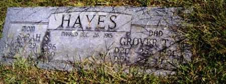 HAYES, GROVER T. - Franklin County, Arkansas | GROVER T. HAYES - Arkansas Gravestone Photos