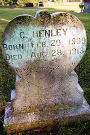 HENLEY, C - Franklin County, Arkansas   C HENLEY - Arkansas Gravestone Photos