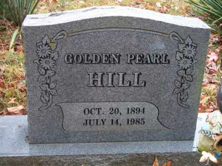 HILL, GOLDEN PEARL - Franklin County, Arkansas | GOLDEN PEARL HILL - Arkansas Gravestone Photos
