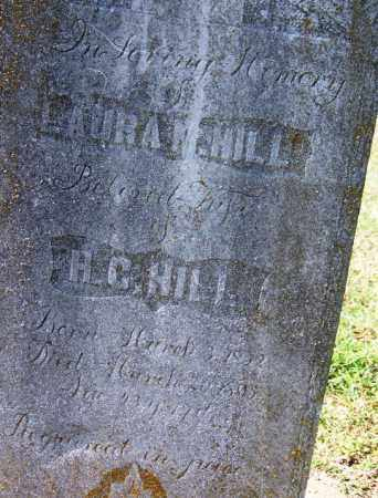 HILL, LAURA M - Franklin County, Arkansas | LAURA M HILL - Arkansas Gravestone Photos