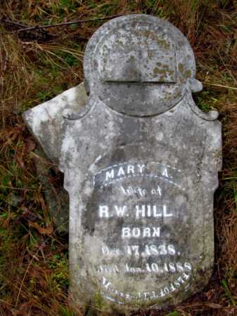 HILL, MARY A - Franklin County, Arkansas | MARY A HILL - Arkansas Gravestone Photos