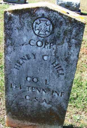 HILL (VETERAN CSA), HENRY C - Franklin County, Arkansas | HENRY C HILL (VETERAN CSA) - Arkansas Gravestone Photos