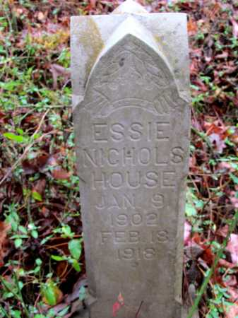 NICHOLS HOUSE, ESSIE - Franklin County, Arkansas | ESSIE NICHOLS HOUSE - Arkansas Gravestone Photos