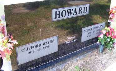 HOWARD, NORMA CHARLENE - Franklin County, Arkansas | NORMA CHARLENE HOWARD - Arkansas Gravestone Photos
