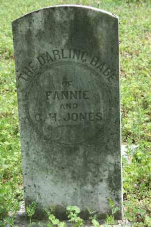 JONES, BABY - Franklin County, Arkansas | BABY JONES - Arkansas Gravestone Photos