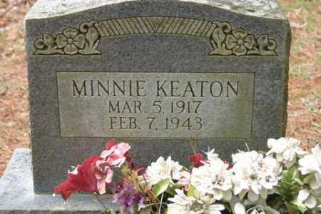 KEATON, MINNIE - Franklin County, Arkansas | MINNIE KEATON - Arkansas Gravestone Photos