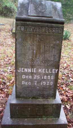 KELLEY, JENNIE - Franklin County, Arkansas | JENNIE KELLEY - Arkansas Gravestone Photos