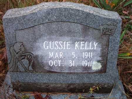 KELLY, GUSSIE - Franklin County, Arkansas | GUSSIE KELLY - Arkansas Gravestone Photos