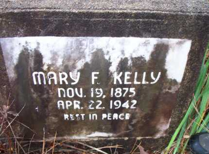 KELLY, MARY  F - Franklin County, Arkansas | MARY  F KELLY - Arkansas Gravestone Photos