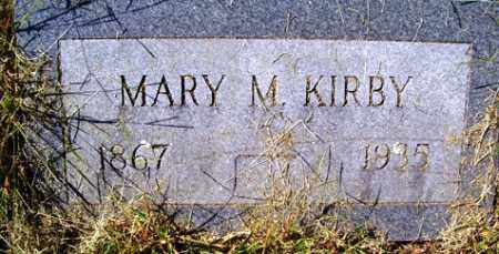 MCKAY KIRBY, MARY MOORE - Franklin County, Arkansas | MARY MOORE MCKAY KIRBY - Arkansas Gravestone Photos