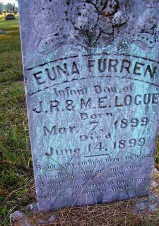 LOGUE, EUNA FURREN - Franklin County, Arkansas | EUNA FURREN LOGUE - Arkansas Gravestone Photos