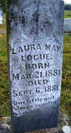 LOGUE, LAURA MAY - Franklin County, Arkansas | LAURA MAY LOGUE - Arkansas Gravestone Photos