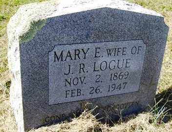 LOGUE, MARY ELLIE - Franklin County, Arkansas | MARY ELLIE LOGUE - Arkansas Gravestone Photos