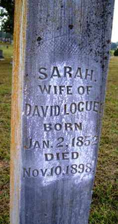 LOGUE, SARAH - Franklin County, Arkansas | SARAH LOGUE - Arkansas Gravestone Photos