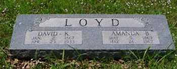 LOYD, DAVID KADE - Franklin County, Arkansas | DAVID KADE LOYD - Arkansas Gravestone Photos