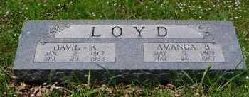 WILLIAMS LOYD, AMANDA BELL - Franklin County, Arkansas | AMANDA BELL WILLIAMS LOYD - Arkansas Gravestone Photos