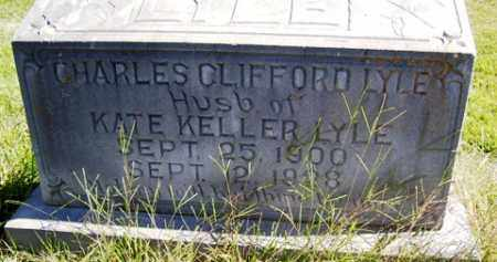 LYLE, CHARLES CLIFFORD - Franklin County, Arkansas | CHARLES CLIFFORD LYLE - Arkansas Gravestone Photos
