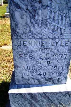 WALKER LYLE, JENNIE - Franklin County, Arkansas | JENNIE WALKER LYLE - Arkansas Gravestone Photos