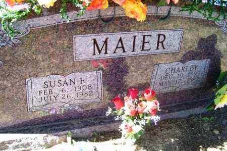 MAIER, CHARLEY - Franklin County, Arkansas | CHARLEY MAIER - Arkansas Gravestone Photos