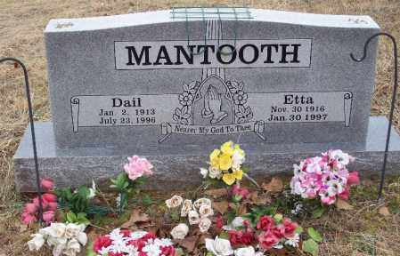 MANTOOTH, DAIL - Franklin County, Arkansas | DAIL MANTOOTH - Arkansas Gravestone Photos
