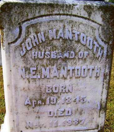 MANTOOTH, JOHN - Franklin County, Arkansas | JOHN MANTOOTH - Arkansas Gravestone Photos