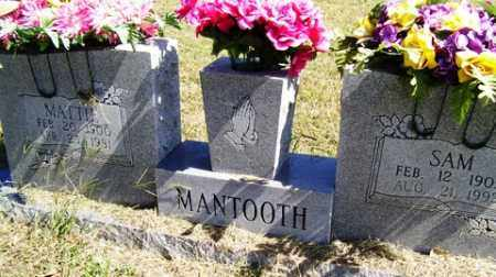 MANTOOTH, MATTIE - Franklin County, Arkansas | MATTIE MANTOOTH - Arkansas Gravestone Photos