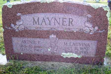 MAYNER, M LAUVINA - Franklin County, Arkansas | M LAUVINA MAYNER - Arkansas Gravestone Photos