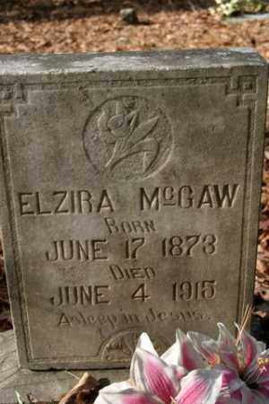 MCGAW, ELZIRA - Franklin County, Arkansas | ELZIRA MCGAW - Arkansas Gravestone Photos