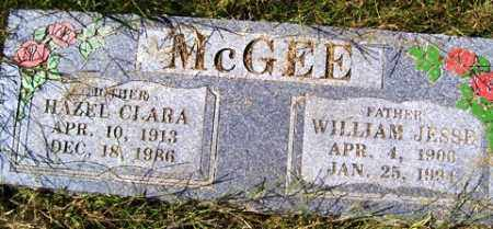 POLK MCGEE, HAZEL CLARA - Franklin County, Arkansas | HAZEL CLARA POLK MCGEE - Arkansas Gravestone Photos