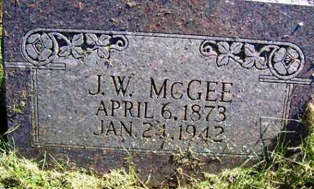 MCGEE, JOHN W - Franklin County, Arkansas | JOHN W MCGEE - Arkansas Gravestone Photos