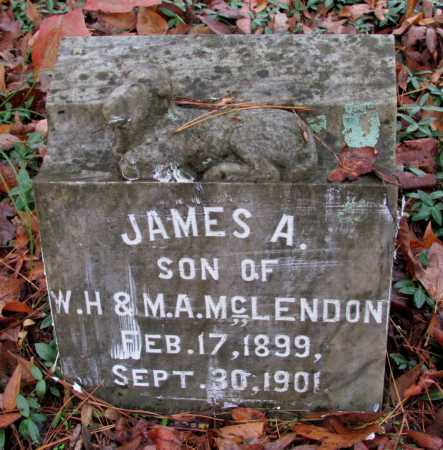 MCLENDON, JAMES A - Franklin County, Arkansas | JAMES A MCLENDON - Arkansas Gravestone Photos