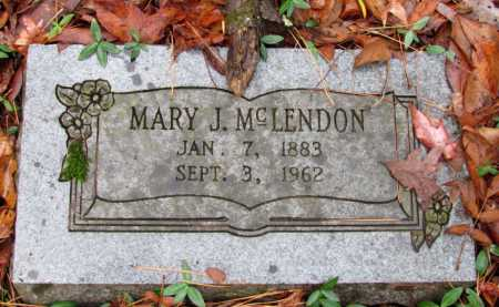 MCLENDON, MARY J - Franklin County, Arkansas | MARY J MCLENDON - Arkansas Gravestone Photos